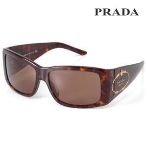 PRADA サングラス 01ISA-2AU/8C1/ブラウン×ベッコウ