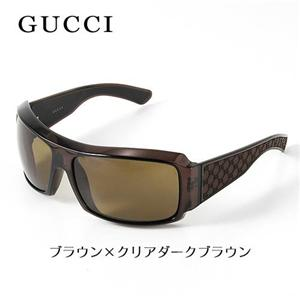 GUCCI サングラス 1559-LJC/X7/ブラウン×クリアダークブラウン