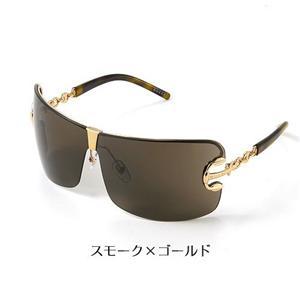GUCCI サングラス Asian Fitting 2783F-J5G/C9/スモーク×ゴールド