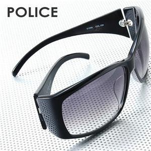 POLICE サングラス S1589J -700/スモークグラデーション×ブラック