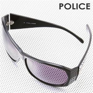 POLICE サングラス S1590J -700X/ライトスモークグラデーション×クリア&ブラック