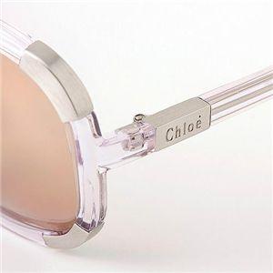 CHLOE(クロエ) サングラス 2119-11/ライトブラウン×ライトパープル