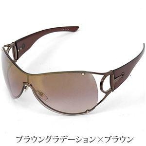 GUCCI(グッチ) サングラス 2764-RFE/NH/ブラウングラデーション(ミラー)×ブラウン