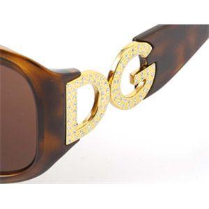 DOLCE&GABBANA(ドルチェ&ガッバーナ)サングラス 6017B-502/73/ブラウン×ベッコウ&ゴールド