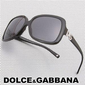 DOLCE&GABBANA(ドルチェ&ガッバーナ) サングラス/スモーク×ブラック