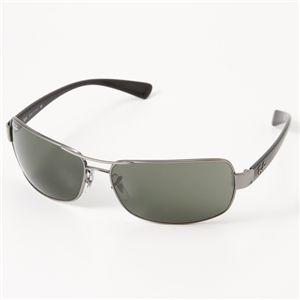 RAYBAN(レイバン) サングラス  ガラスレンズ 3379-014/51/ダークグリーン×ガンメタル&ブラック