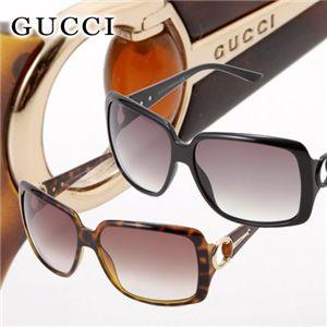 GUCCI(グッチ)  サングラス 3105-D28/LF/スモークグラデーション×ブラック