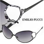 EMILIO PUCCI(エミリオプッチ) サングラス 108-002スモークグラデーション×ブラック