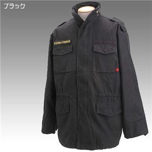 ROTHCO社 M-65 ミリタリー フィールドジャケット ブラック Lサイズ