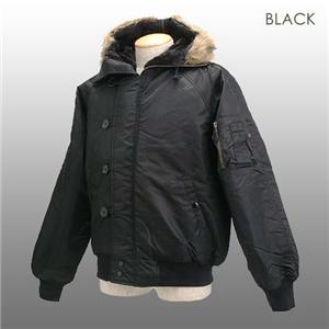 ROTHCO社 N-2B ミリタリージャケット ブラック Mサイズ