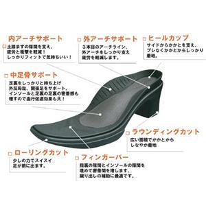 9機能搭載♪Re:getA ストレッチロングブーツ 106 ブラック 23