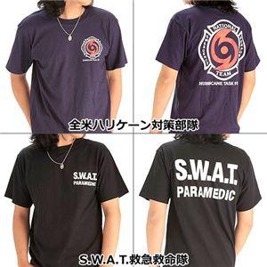 米国着用禁止Tシャツ 全米ハリケーン対策部隊 L