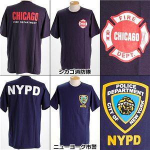 米国着用禁止Tシャツ ニューヨーク市警 L