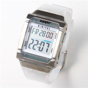 ZIPPO レディース デジタルウォッチ ZI-012PW/ホワイト