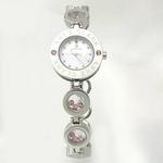 ANNE CLARK(アンクラーク) 腕時計 天然1Pダイヤモンド ムービングカラーストン レディース ブレスウォッチ AT1008-17