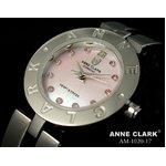 ANNE CLARK(アン・クラーク)レディース腕時計 AM1020-17(文字盤ピンク) 【愛らしいスイング・チャームがキラリ☆】