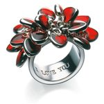 swatch bijoux(スウォッチ ビジュ) JRR016-7/リング(LOVE EXPLOSION RING) 日本サイズ:13号