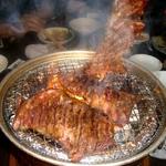 炭火焼肉亀山社中の焼肉セット4キロセット(秘伝のもみダレ漬け)