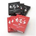 炭火焼肉たむらのお肉が入ったカレーセット 【12個セット】辛口×6・中辛×6