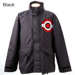 カナダ雪崩救助隊 極寒対応 中綿アウトドアジャケット ブラック L
