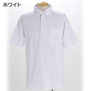 COOLBIZ ドライメッシュBDシャツ ホワイト S