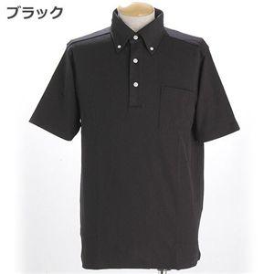 COOLBIZ ドライメッシュBDシャツ ブラック L
