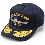 USS(米軍艦)キャップ CVN-63(KITTY HAWK)