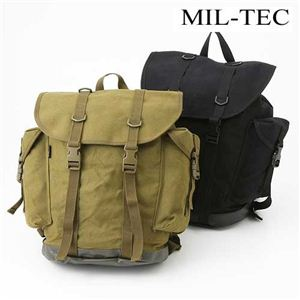 MIL-TEC社 ドイツ山岳部隊マウンテンラックサックレプリカ ML1371-220744 ブラック