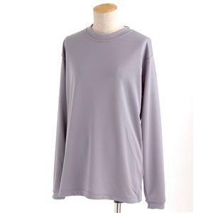 スポーツ吸汗速乾ロング袖Tシャツ 2枚SET Lグレー XSサイズ
