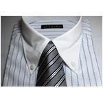 【福袋★柄お任せ】某百貨店仕様ワイシャツ5点&シルクネクタイ5点セット Lサイズ