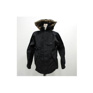 アメリカ軍ECWCS-1ジャケット復刻版 ファー付き MM-10411 ブラック XS (日本サイズS)