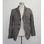 ウールテーラードジャケット ブラウン Lサイズ