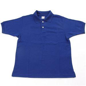 ドライメッシュアクティブ半袖ポロシャツ ロイヤルブルー S
