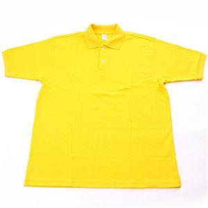 ドライメッシュアクティブ半袖ポロシャツ イエロー S
