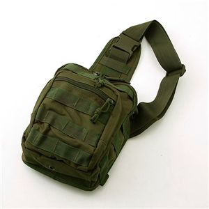 US軍仕様 ミリタリー肩がけワンショルダーバッグ NBS082YN オリーブ M