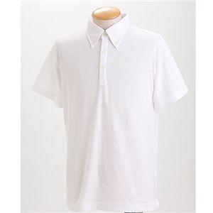 クールビズ BDドライポロシャツ ホワイト XL