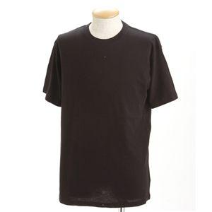 5枚セットTシャツ ブラック×5枚 XS
