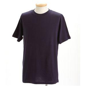 5枚セットTシャツ ネイビー×5枚 XS
