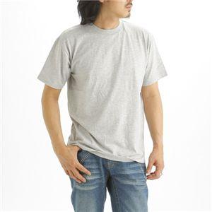 5枚セットTシャツ 杢グレー×5枚 S