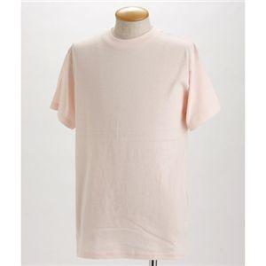 5枚セットTシャツ ベビーピンク×5枚 XL