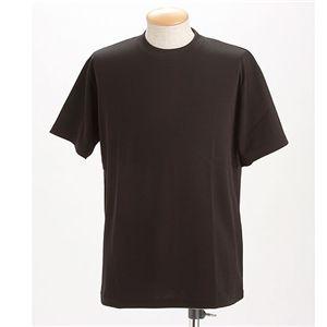 ドライメッシュTシャツ 2枚セット 白+ブラック L