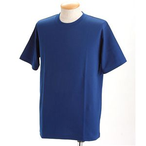 ドライメッシュTシャツ 2枚セット 白+ロイヤル L