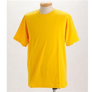 ドライメッシュTシャツ 2枚セット 白+イエロー S