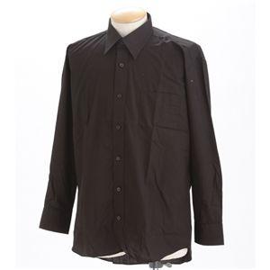 チョイワルBLACKシャツネクタイセット ゴールド L