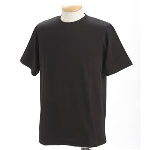 ドライメッシュポロ&Tシャツセット ブラック 3L