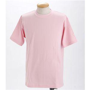 ドライメッシュポロ&Tシャツセット ソフトピンク LL