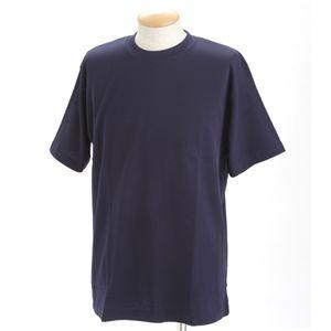 ドライメッシュポロ&Tシャツセット ネイビー LL
