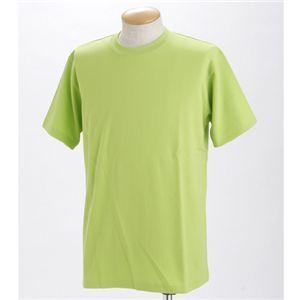 ドライメッシュポロ&Tシャツセット アップルグリーン LLサイズ