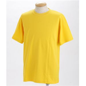 ドライメッシュポロ&Tシャツセット イエロー S