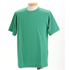 ドライメッシュポロ&Tシャツセット グリーン 3L